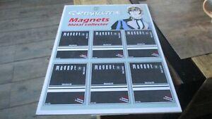 Corto Maltese- Hugo Pratt -Vintage-Présentoir PLV pour magnets-Jamais utilisé