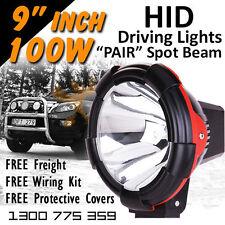 HID Driving Lights - 9 inch 100w PRO SPOT $499.00/PAIR 9-32v  **Aussie Seller**