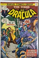 Marvel Tomb Of Dracula #25 Key Issue 1st Hannibal 1974 Bronze Age