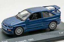 Ford Escort RS Cosworth Blue, Whitebox WB038, scale 1:43, adult gift model