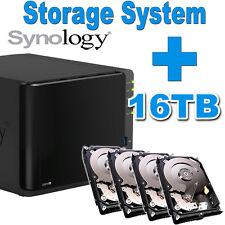 NAS 16TB (4x4TB) Synology Disk Station DS916+ Netzwerkspeicher 2xGigabit