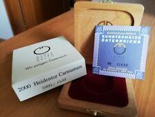1 x Österreich 1000 Schilling Gold 2000 Heidentor Carnuntum Echtheitszertifikat