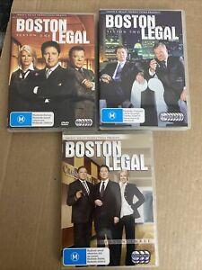 Boston Legal TV DVD Season 1 2 3