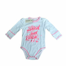 Diesel Baby Toddler Girls Long Sleeve Designer Babygrow Bodysuit Age 3-24 Months