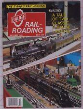 Gauge Railroading Magazine October 1993