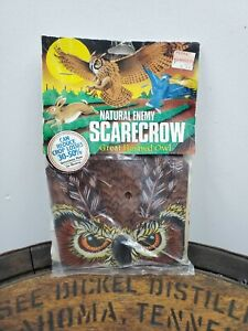 Vintage Dalens life-Size Horned Owl Natural Enemy Scarecrow Inflatable NEW (W)
