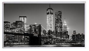 300W Fern Infrarotheizung NY BB s/w Bild Elektroheizung Überhitzungsschutz TÜV