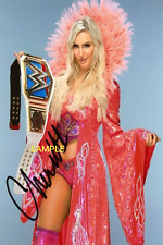 4x6 OR 8x10 SIGNED AUTOGRAPH PHOTO REPRINT of CHARLOTTE FLAIR WWE W/BORDERS