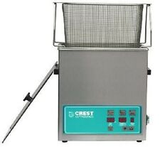 NEW Crest 1.5 Gallon CP500D Ultrasonic Heated Cleaner & Basket