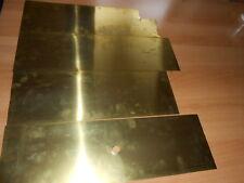 H+S Präzisionsfolien Messingfolie 150x500 mm   0,15 , 0.20 , 025 mm dicke