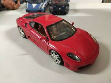 Macchinina 1/18 Ferrari F430 Coupè Hotwheels Rossa Hot Wheels