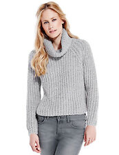 Marks and Spencer Women's Long sleeved Cable Knit Knit Jumpers & Cardigans