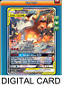 Pokemon TCG ONLINE Reshiram & Charizard GX SM201 DIGITAL CARD Black Star Promo