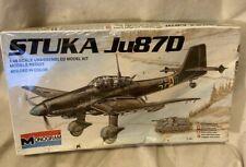 New! MONOGRAM Ju87D STUKA kit# 6840 vintage stock 1983 sealed box