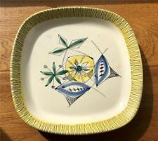Earthenware Date-Lined Ceramic White Vintage Original