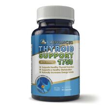 Thyroid Support Iodine B-12 Vitamin Magnesium Weight Gain 60 Caps High Potency