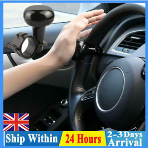 Car Steering Wheel Grip Aid Power Handle Assister Spinner Knob Ball Universal UK