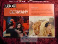LOOK May 4 1965 GERMANY Jeanne Moreau Brigitte Bardot Viva Maria Tony Conigliaro