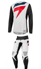 Shift Mainline Black Label Gear Set Combo Black White 32 Large Motocross NEW