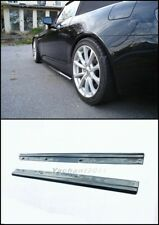 Carbon Underboard Fit For 00-09 Honda S2000 AP1 AP2 Spoon Side Skirt Extension