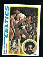 NMT 1978 Topps Basketball #61 Dave Bing HOF.