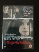 Murder By Numbers [DVD] [2002] Sandra Bullock Cert 15 Big Value + Free Postage