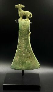 Ancient Nomadic Empire Civilizations 6th C.BC Steppe Culture Bronze Axe