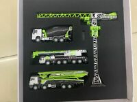 Zoomlion Products' Model 4PC Set , ZAT2000V Tower Crane Mixer Pump Truck 1:100