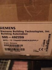 Siemens / Cerberus Pyrotronics Mxl Mps-12 Power Supply 24Vdc 12 Amp 500-492209