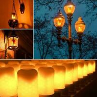 LED Flame Effect Fire Light Corn Bulb Artificial Simulate Nature  Flicking Lamp