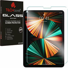 More details for techgear tempered glass screen protector for apple ipad pro 12.9 2021 2020 2018