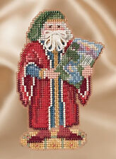 Cross Stitch Kit ~ Mill Hill Renaissance Santas - Florence Santa #MH20-1632