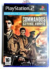Commandos Strike Forces PS2 Playstation Nuevo Precintado  Sealed New PAL/SPA