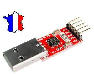 CP2102 USB UART adaptateur serie ttl 5.0V 3.3V UART bridge adapter