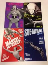 70th Anniversary Special Timely Comics variant covers Marvel Mystery Mystic more