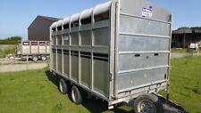 Ifor Williams DP120 - 12' Livestock Trailer Easy Load Ramp Decks FULLY SERVICED!