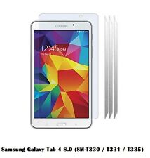 5 x Clear Screen Protect for Samsung Galaxy Tab 4 8.0 (SM-T330 / T331 / T335)
