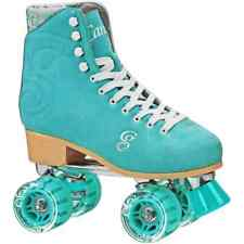 Candi Girl Carlin Patin à Roulettes Quad - Teal - Taille - UK 5