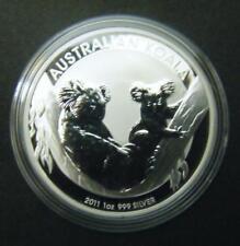 2011 Australian $1 1oz Koala .9999 Fine Silver Bullion Coin dollar Australia
