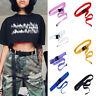 Canvas Waist Belt Women Casual Female Long Belts Plastic Buckle Harajuku Supply