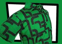 CHENASKI Geometric POLO SHIRT  Limited Edition 1241 Green