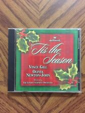 Hallmark Xmas Vince Gill Olivia Newton John CD Tis the Season Christmas Country