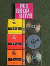 PET SHOP BOYS HOME AND DRY SET OF 3 RARE CD SINGLES WITH SLEEVE FOR ALL 3 CDs