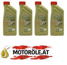 4 Liter Castrol Edge V ACEA A1/B1 VCC RBS-02AE 0W-20 4x1l Motoröl