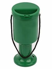 3 Hand Held Plastic Collection Boxes - Charity Money Fundraising PACK OF 3 Green