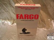 Fargo VHS Frances McDormand William H. Macy Steve Buscemi