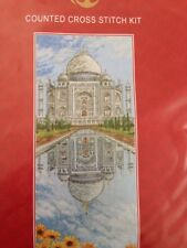 Anchor THE TAJ MAHAL Counted Cross Stitch Kit - Sealed New in Bag