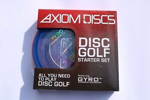 Axiom Disc Golf Premium Starter Set