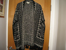 MONSOON WOMENS LONG CARDIGAN/SHAWL,SZ S/M,G.C