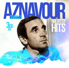 Chanson CD Charles Aznavour Greatest Hits Cds